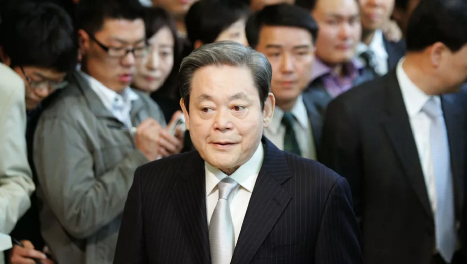 Zmarł Lee Kun-hee - ojciec sukcesu Samsunga