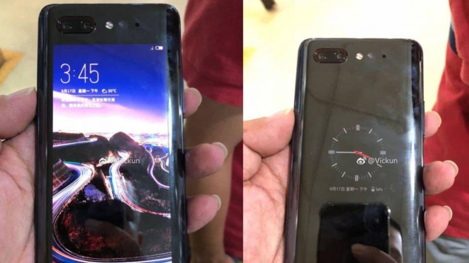 ZTE nubia Z18s - wideo pokazuje smartfon z dodatkowym ekranem na plecach