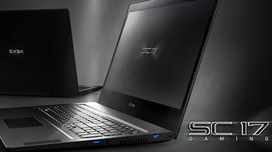 EVGA SC17 - oficjalna zapowiedź laptopa do... overclockingu