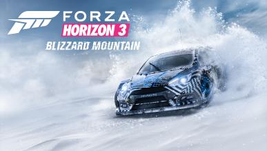 Ukazał się mini-zwiastun dodatku Forza Horizon 3: Blizzard Mountain