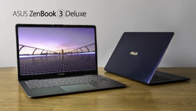 Nowy, ultracienki ZenBook 3 Deluxe UX490 z Kaby Lake i7