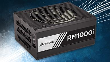 Test zasilacza Corsair RM1000i