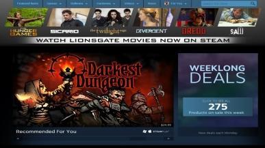 Oglądaj filmy za pośrednictwem Steam