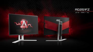 Test AOC Agon AG251FZ - 240 Hz w lepszej cenie
