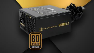 SilentiumPC Vero L2 500 W - nowe wcielenie Vero L1 500 W