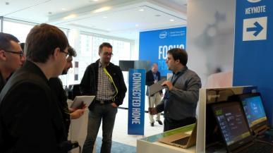Relacja z konferencji Intela, czyli niebiescy prężą muskuły