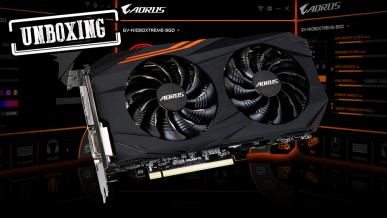 AORUS RX 570 4GB - UNBOXING