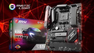 Test płyty głównej MSI B350 Gaming Pro Carbon