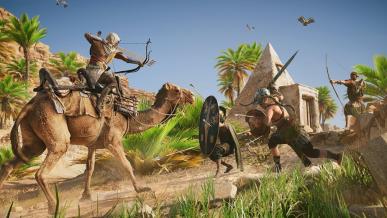 Assassin\'s Creed: Origins - polowanie, walka, eksploracja, rozgrywka nocą