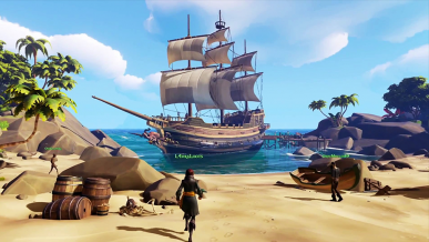 Sea of Thieves: wspólne bitwy morskie na Xbox One i Windows 10