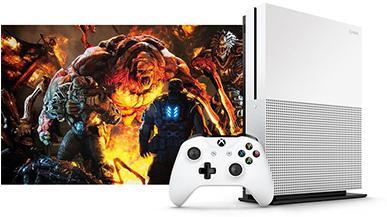 Xbox One S - zdjęcia przedstawiające odświeżoną konsolę Microsoftu