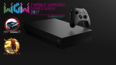 Na Warsaw Games Week zagrasz na Xbox One X w nową Forzę i Assassina
