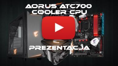 AORUS ATC700 Cooler CPU + RX 570 4G - Prezentacja