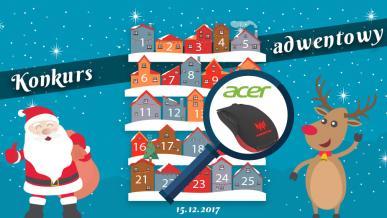 Konkurs Adwentowy 2017 - dzień #15 Acer