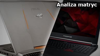 Acer Predator 17 oraz Asus G752VT - analiza matryc w odniesieniu do monitorów dla graczy