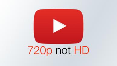 720p to już nie HD. YouTube degraduje 720p do standardowej jakości