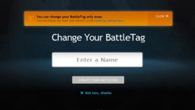 Blizzard wprowadza możliwość wielokrotnej zmiany nicku na Battle.net - usługa jest płatna