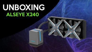 Alseye X240 - unboxing ładnie wyglądającego chłodzenia AIO