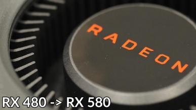 AMD Radeon RX 480 -> RX 580: Weryfikacja przeróbki i test stabilności