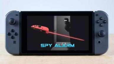 Aplikacja Spy Alarm zamienia Nintendo Switch w alarm na podczerwień