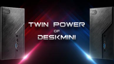 ASRock DeskMini X300 i H470 - komputery barebone z AMD Ryzen 4000G Renoir i Intel Comet Lake