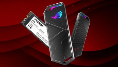ASUS ROG Strix Arion (+ Patriot P300) - test gamingowej kieszeni na dysk SSD M.2