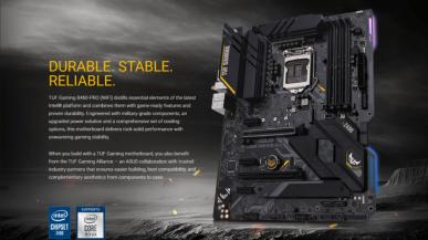 ASUS TUF Gaming Z490-PLUS - 16-fazowy układ zasilania dla Comet Lake-S