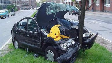 Badacze obwiniają Pokemon Go o wzrost wypadków drogowych