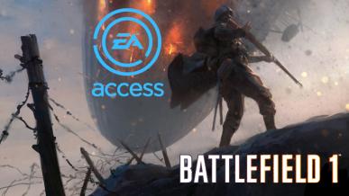 Battlefield 1 trafia do EA Access / Origin Access