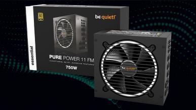 be quiet! Pure Power 11 FM 750 W - test cichego i wydajnego zasilacza z 80+ Gold