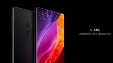 Bezramkowy Xiaomi Mi Mix 2 uchwycony na zdjęciu