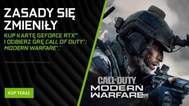 Call of Duty: Modern Warfare gratis z kartami graficznymi GeForce RTX