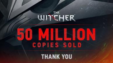 CD Projekt świętuje sukces Wiedźmina. 50 mln sprzedanych egzemplarzy