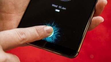 Chińczycy pierwsi stworzyli smartfon ze skanerem palca pod ekranem