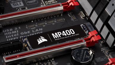 Corsair MP400 – nowy dysk SSD M.2 NVMe z pamięcią 3D QLC NAND i pojemnością do 8 TB