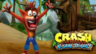 Crash Bandicoot N. Sane Trilogy z roczną ekskluzywnością na PlayStation 4
