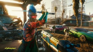 Cyberpunk 2077 trafił na listę bestsellerów PS Store