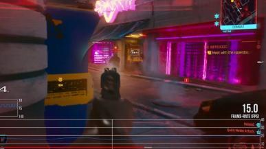 Cyberpunk 2077 nie wygląda zbyt dobrze na PS4 i Xbox One. Widoczne spadki do 15 fps