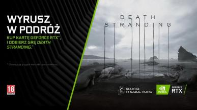 Death Stranding za darmo z kartami graficznymi GeForce RTX