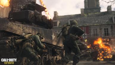 Digital Foundry analizuje COD:WWII na PS4 i PS4 PRO – różnice są niewielkie