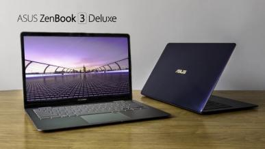 Do sprzedaży wszedł Asus ZenBook 3 Deluxe - laptop z ultracienkimi ramkami
