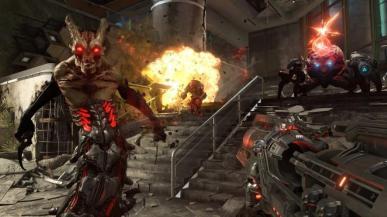 Doom Eternal bombardowany negatywnymi recenzjami. Przyczyną Denuvo
