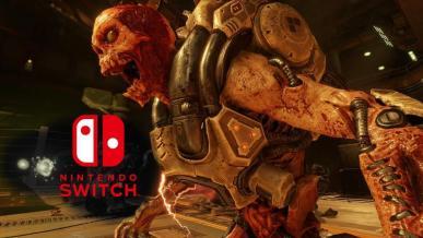 Doom na Nintendo Switch wydany, ale port ma problemy