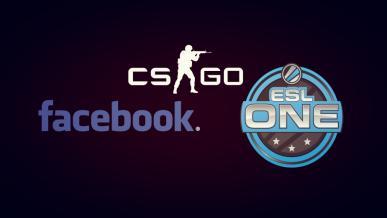 E-sport: Facebook będzie transmitować mecze ESL w CS:GO