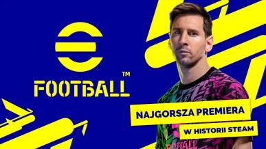 """eFootball 2022 - wczesna recenzja. Sprawdzamy """"najgorszą premierę w historii Steama"""""""