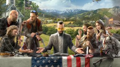 Far Cry 5 - nowa grafika ukazuje antagonistę. Szczegóły już 26 maja