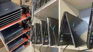 Farmy kryptowalut powstają już nawet z laptopów. Górnicy masowo skupują laptopy z układami RTX 3000