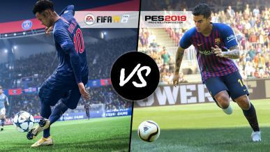 FIFA 19 kontra Pro Evolution Soccer 2019 - dwa punkty widzenia fanów