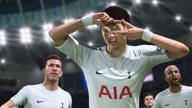 FIFA 22 wzbudza mniejsze zainteresowanie niż poprzednia odsłona