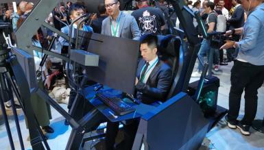 Fotel dla gracza za 13999$ i laptop z matrycą 300 Hz - Acer szaleje na IFA